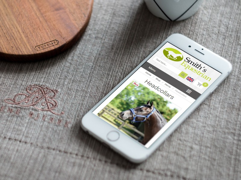 Smiths Equestrian Ecommerce Website